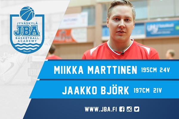 Miikka Marttinen & Jaakko Björk