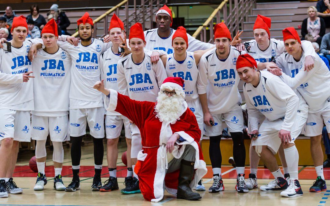JBA joulutauolle harmittavan tappion jälkeen