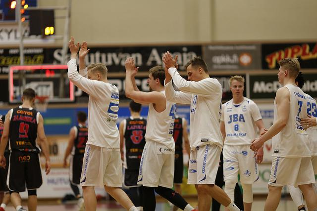 Jyväskylä Basketball Academyn palkitsemat pelaajat